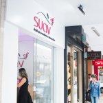 Faixada loja da Suav em um shopping. Imagem ilustrativa texto franquia suav