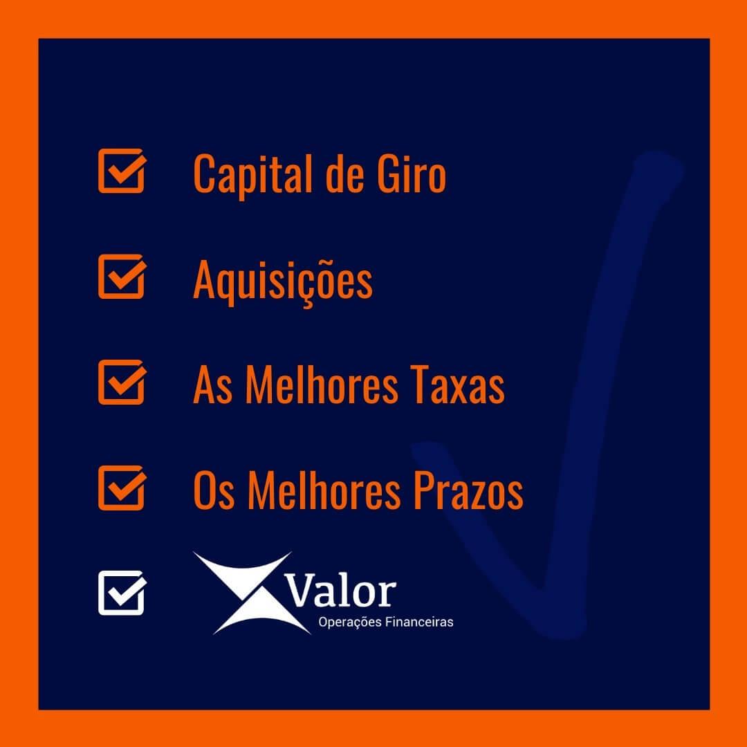 VALOR OPERAÇÕES FINANCEIRAS