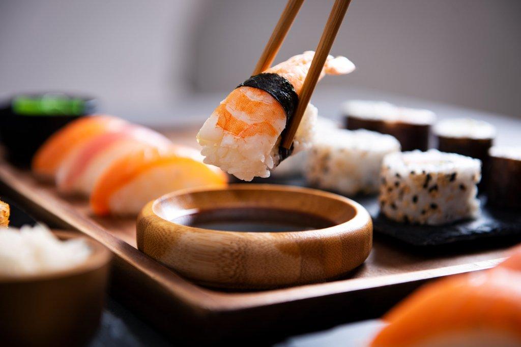sushi Franquia de culinária chinesa Jin Jin
